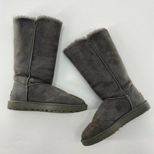 UGG Bailey Button Triplet Genuine Shearling Boot